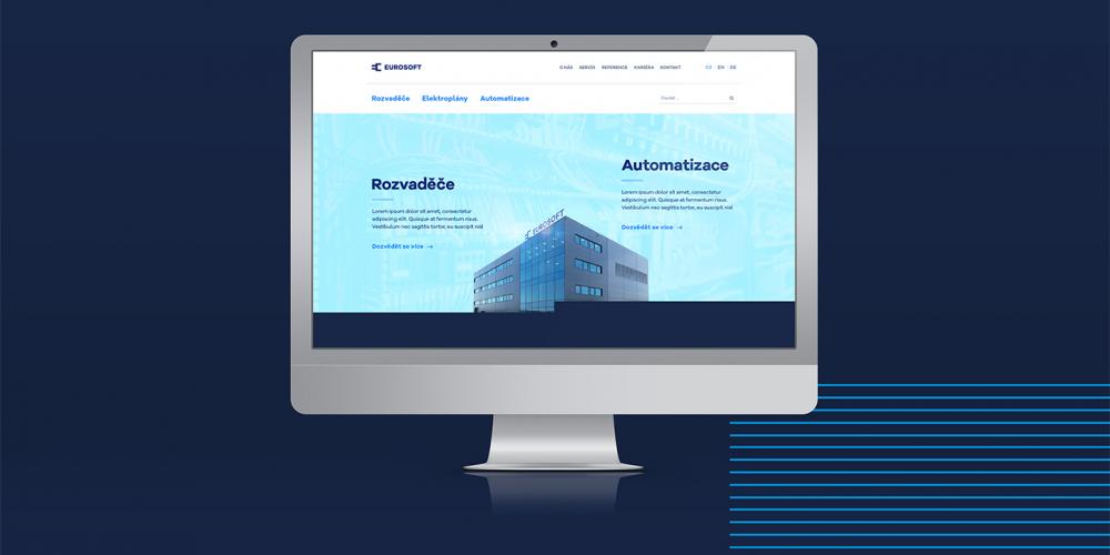 Webové stránky Eurosoft Control