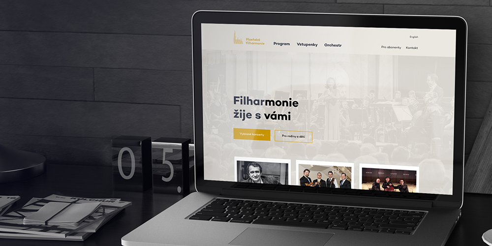 The Pilsen Philharmonic website