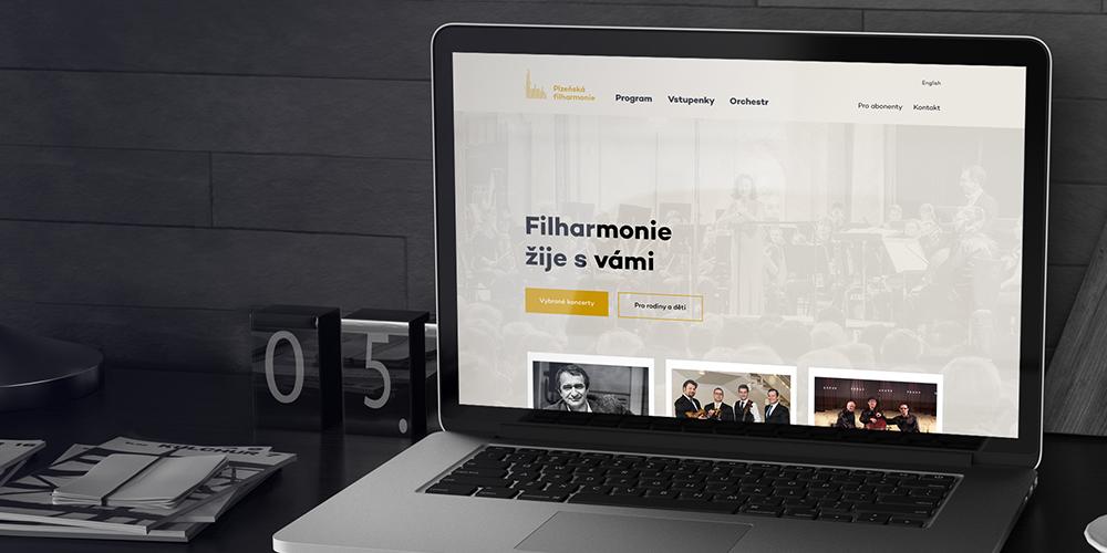 Web Plzeňské filharmonie