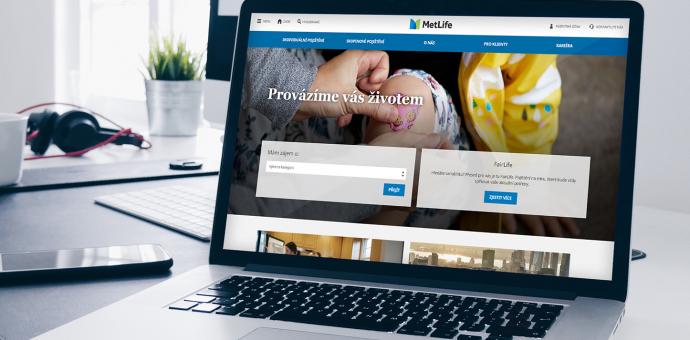 Webové stránky MetLife