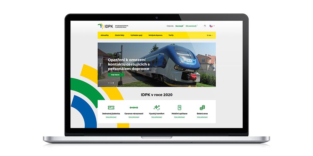 Webové stránky IDPK