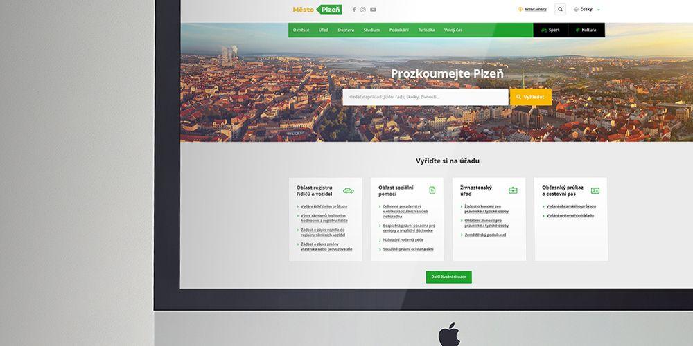 Webové stránky Města Plzně