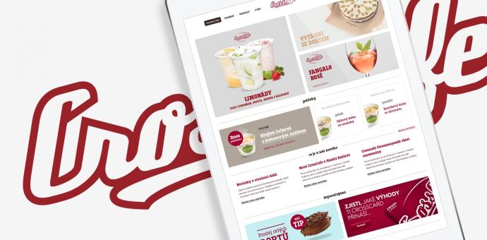 Webové stránky pro CrossCafe