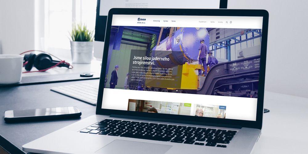 Webové stránky Škoda JS