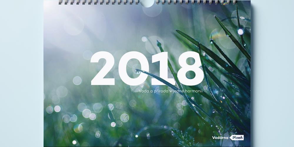 Kalendář Vodárna Plzeň