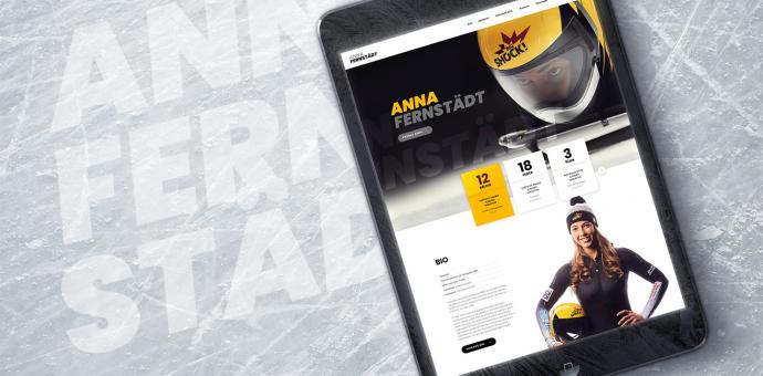 Webové stránky Anny Fernstädt