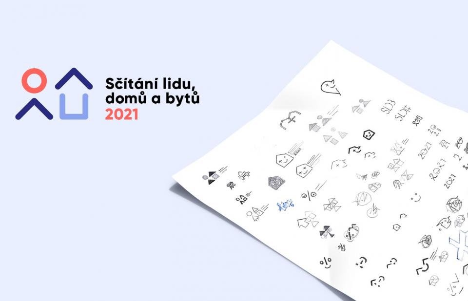 Cesta výběrovým řízením na logo Sčítání lidu 2021
